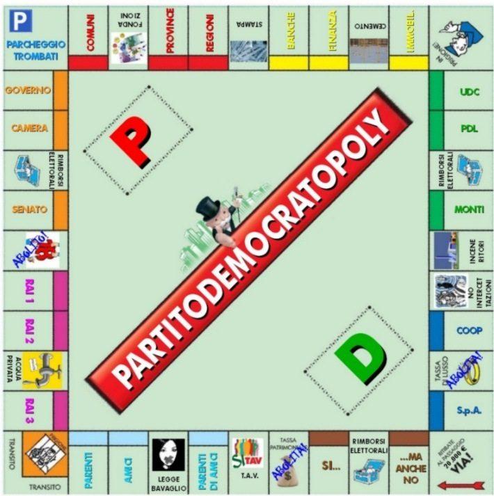 Il pd contro il monopoly scrive all ambasciatore usa for Nuovo arredo monopoli