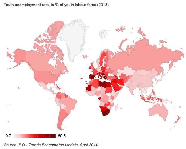 Disoccupazione giovanile Zero Hedge