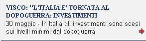 calo investimenti