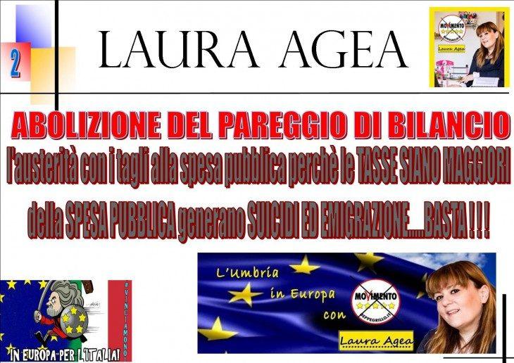LAURA AGEA (M5S) CHIEDE CONTO A JUNCKER DEI DANNI DELL'AUSTERITY