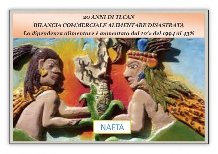 TTIP = NAFTA MESSICANO (ITALIA TRA 10 ANNI) PARTE TERZA: LO SFASCIO TOTALE DELLA BILANCIA COMMERCIALE ALIMENTARE