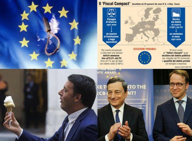 IL FISCAL COMPACT E' STATO ROTTAMATO IN SILENZIO MENTRE RENZI DORMIVA!  (Antonio Maria Rinaldi)