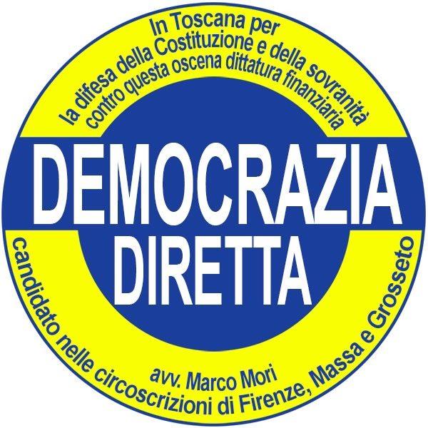 Elezioni regionali Toscana: corro per diffondere la verità sul colpo di Stato in atto e difendere la democrazia costituzionale.