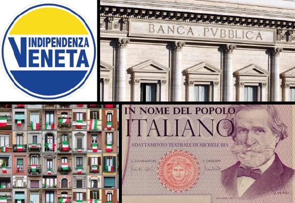 Indipendenza Veneta verso la nuova Banca Pubblica – prima parte