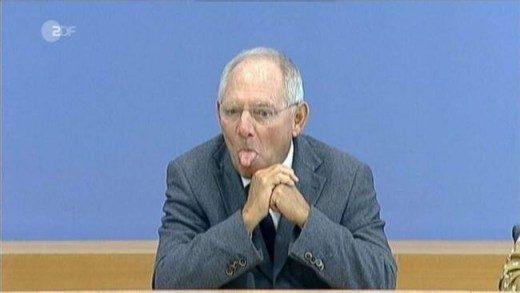 SCHAEUBLE: CHE LA GRECIA ESCA TEMPORANEAMENTE DALL'EURO! (di Antonio M. Rinaldi)