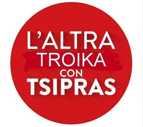 L'ALTRA TROIKA CON TSIPRAS: welcome aboard