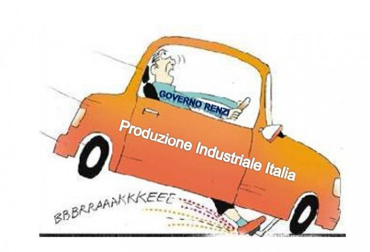 La frenata. Affidereste la vostra auto a Renzi?