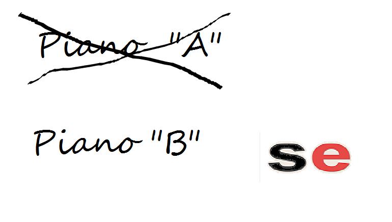 cartello piano b