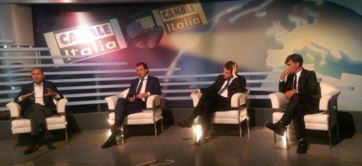 Maurizio Gustinicchi in TV a Canale Italia