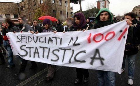 Eurostat: Italia ha la più alta percentuale di disoccupati che sono diventati inattivi