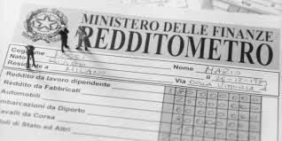 TUTTO SUL REDDITOMETRO (di Michela Rimano e Stefania Matricardi)