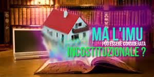 La Commissione Tributaria di Massa-Carrara dichiara incostituzionale l'IMU.