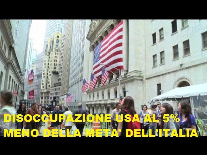OTTIMI DATI SULL'OCCUPAZIONE DAGLI USA: la FED ritoccherà i tassi ?