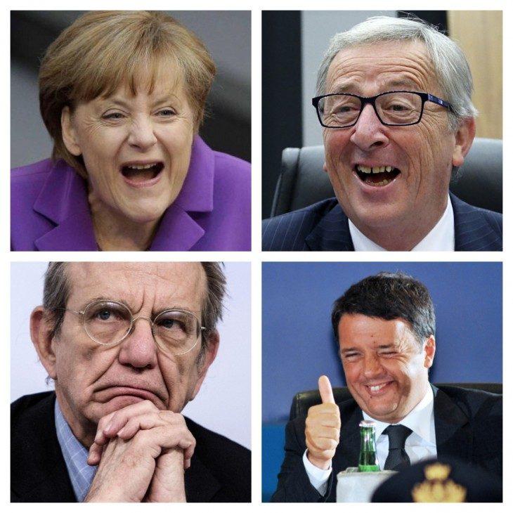 LA UE HA ORMAI GIA' DECISO: PRONTI A SOSTITUIRE RENZI CON PADOAN! (di A.M. Rinaldi)