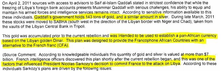 Dopo le mail di H. Clinton desecretate possiamo dire che la crisi del 2011 fu un complotto contro l'Italia: volevano eliminare Gheddafi e l'Italia si mise di traverso?