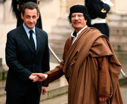 Clamorosa intercettazione: la guerra di Sarkozy a Gheddafi e all'Italia