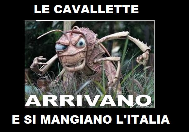 Le cavallette – Ovvero vita nell'Italia ai tempi di Renzi