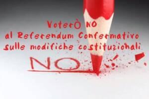 voterò no