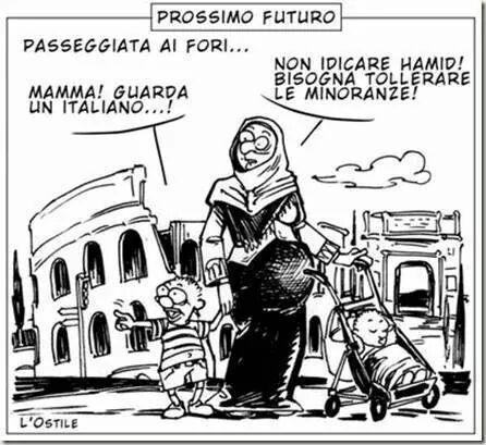 ARMA DI IMMIGRAZIONE DI MASSA (Di Marco Santero)