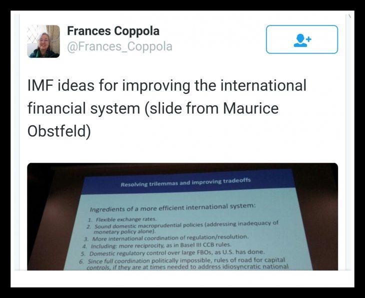 FMI: BASTA CAMBI FISSI (ossia basta Euro)