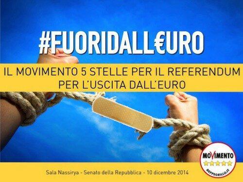 """CLAMOROSO! MAESANO SU """"LA STAMPA"""" CONFERMA L'ABBANDONO DEFINITIVO DELLA POSIZIONE NO EURO DEL M5S!"""