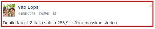 SI SCHIANTA LA BILANCIA COMMERCIALE ITALIANA