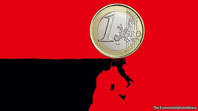 """""""Quitaly"""": il The Guardian vede l'Italia fuori dall'€uro perché con la moneta unica il Belpaese non è più competitivo (di Giuseppe PALMA)"""