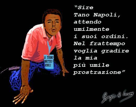 Renzi-Napolitano, due vili traditori della Repubblica italiana al servizio della finanza internazionale