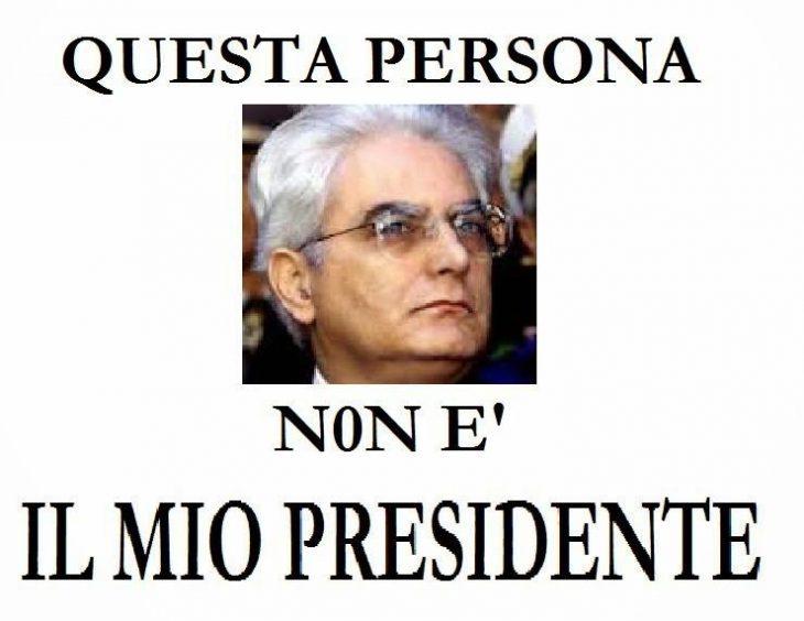 Può un Presidente della Repubblica auspicare la fine del paese? È alto tradimento!