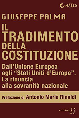 """Un'indagine approfondita sui Trattati europei e sulla moneta unica, quindi sul loro rapporto con la nostra Costituzione, in questo e-book di Giuseppe PALMA: """"IL TRADIMENTO DELLA COSTITUZIONE…"""""""
