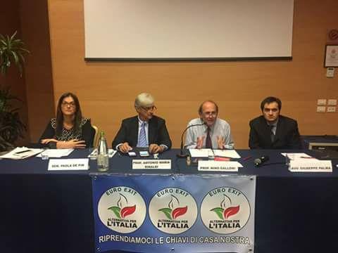 """Riforma Costituzionale: CI VOGLIONO SCHIAVI E OPPRESSI (VIDEO del convegno di """"ALTERNATIVA PER L'ITALIA/EURO-EXIT"""" – Treviso 22/10/2016)"""