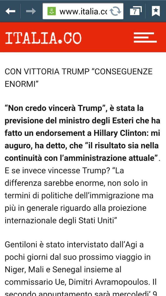 ECCO IL PROSSIMO PRESIDENTE DEL CONSIGLIO ITALIANI: GENTILONI , IL RE DELLE GAFFES CHE VUOL CEDERE SOVRANITA' A PACCHI