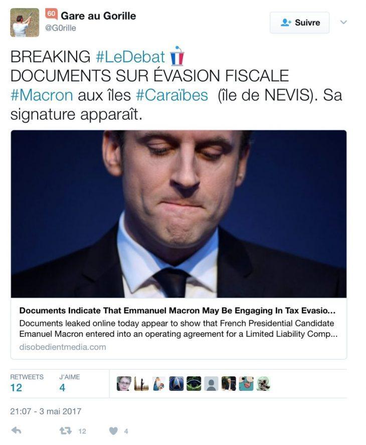 Come si scrive Impeachment in francese? Se i dati fiscali offshore di Macron come penso sono veri….