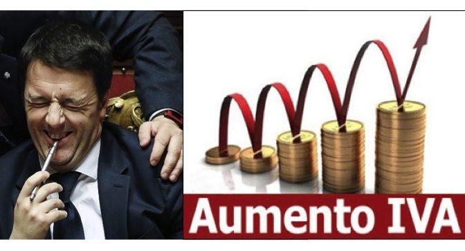 L'aumento dell'IVA deciso dal Governo Gentiloni (del PD) di fatto su pressione EUropea: facciamo chiarezza