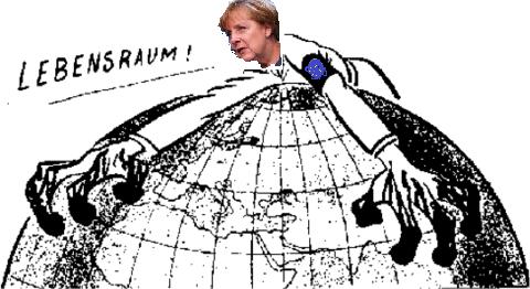 IL NUOVO LEBENSRAUM TEDESCO. SCHIACCIARE L'EUROPA E CONQUISTARE MERCATI ORIENTALI