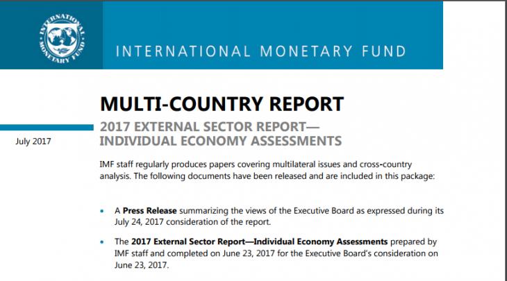 PER L'ENNESIMA VOLTA IL FMI CERTIFICA L'INCONGRUENZA ED IL SOSTANZIALE FALLIMENTO DELL'EURO. QUELLO CHE NON LEGGERETE IN NESSUN MAINSTREAM ITALIANO
