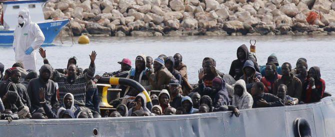 L'EUROPA VUOLE CHE L'INVASIONE DELL'ITALIA PROSEGUA, PROBABILMENTE FINO ALLA SUA DEFINITIVA DISTRUZIONE