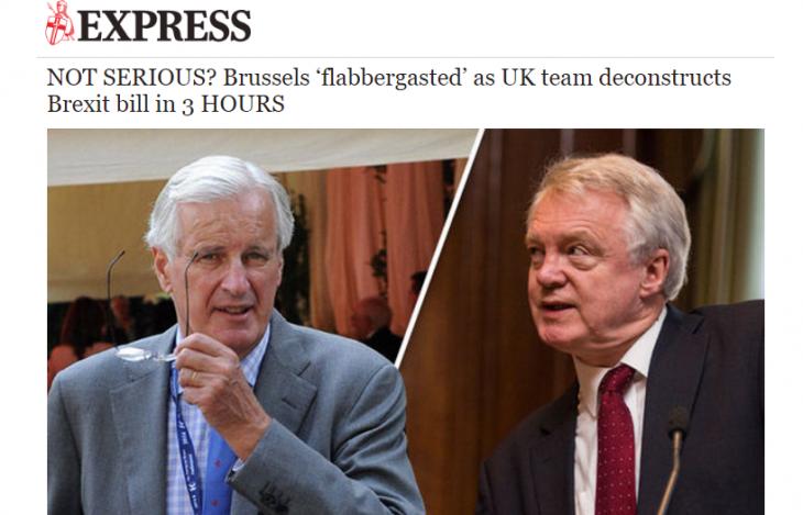 Tra Regno Unito e UE volano gli stracci
