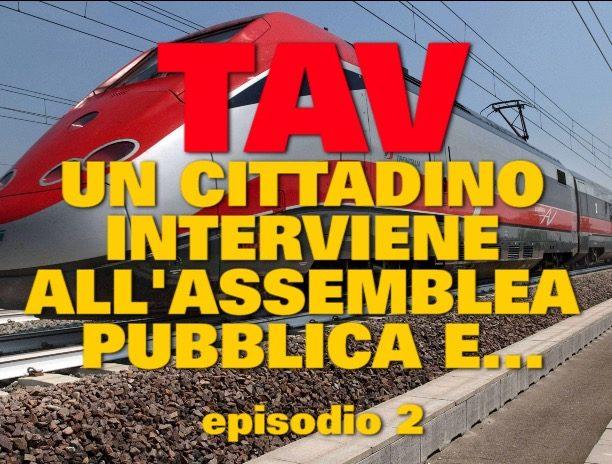 TAV: QUANDO UN CITTADINO INTERVIENE ALL'ASSEMBLEA PUBBLICA PER LA TAV A VICENZA