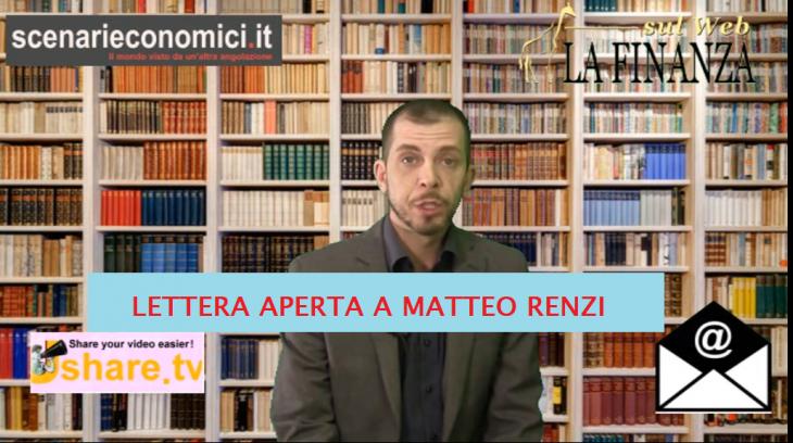 RSVP: LETTERA APERTA A MATTEO RENZI.