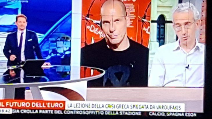 """VAROUFAKIS: """"DOBBIAMO COMBATTERE IL FASCISMO DEL GOVERNO ITALIANO"""""""
