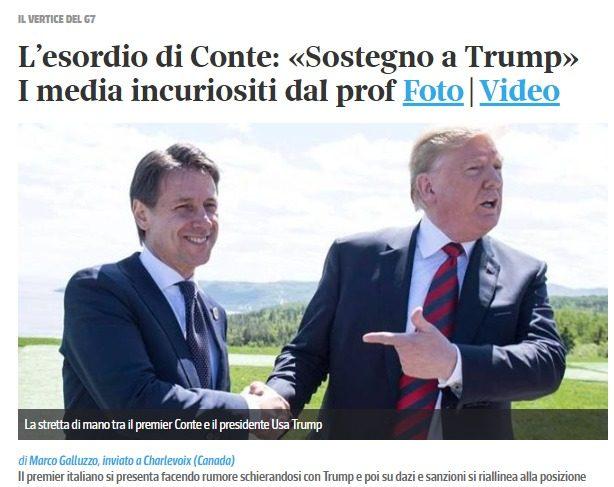 Dal 1980, in circa il 95% dei casi i decennali USA hanno reso di più del BTP: finalmente un primo ministro (Conte) riconosce che l'Italia è legata a Washington, NON a Berlino!