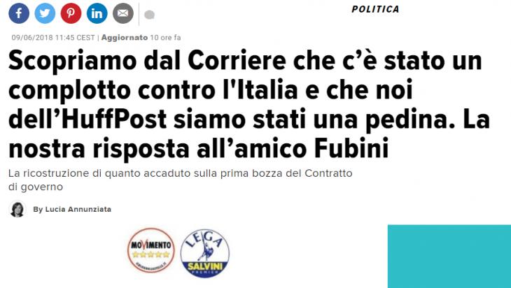 Il complotto di Fubini: l'ennesima fake news o qualcosa di serio?