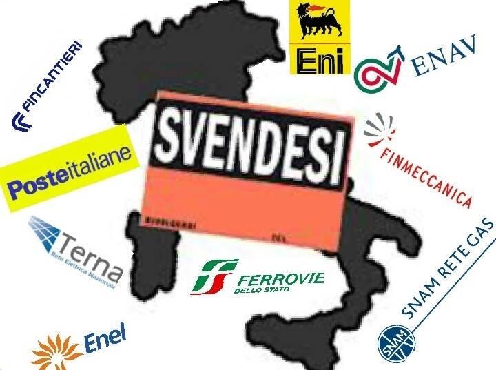 SULLE PRIVATIZZAZIONI DOBBIAMO INVERTIRE LA ROTTA Perché le privatizzazioni hanno rovinato la nostra economia? Perché si fanno? Quale funzione hanno? Occorre prima comprendere le ragioni del declino industriale italiano per potervi porre rimedio. (di Luca Pinasco)