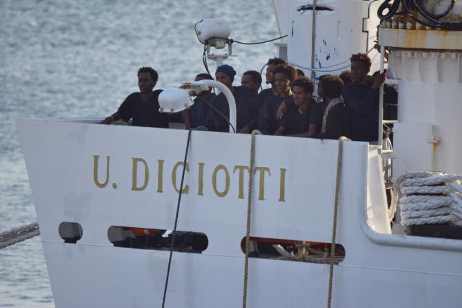 ITALIA NEWS:INTERVISTA A FABIO LUGANO SUL NAVE DICIOTTI E MODIFICAZIONI METEO