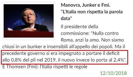 Ringraziate che ci sono i gialloverdi: Gentiloni si era mangiato con l'EU tutta la flessibilità anche del 2019! Scampata la super-patrimoniale di Cassese