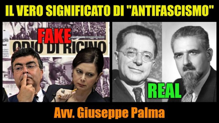 """Il vero significato dell'antifascismo secondo i Padri Costituenti (intervista a Giuseppe PALMA da parte di """"ItaliaNews-Canale Sovranista"""")"""