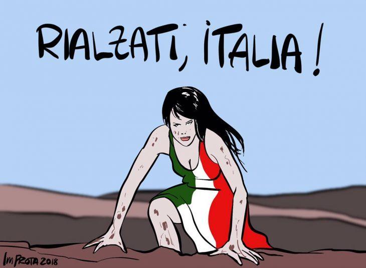 RIALZATI, ITALIA! (poesia di Giuseppe Palma)