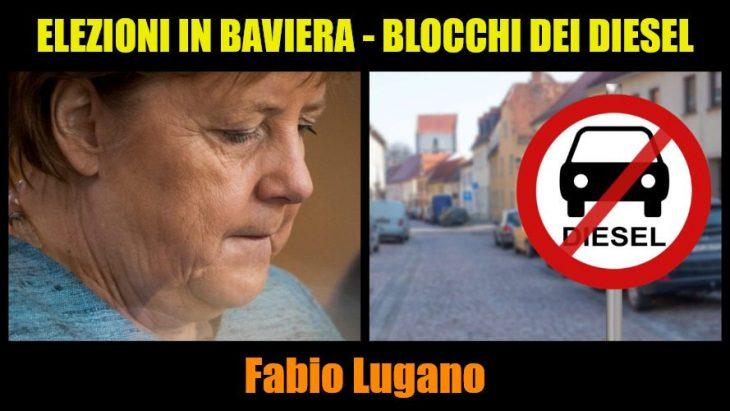 Italia News – Intervista a Fabio Lugano. Elezioni in Baviera e blocchi auto diesel