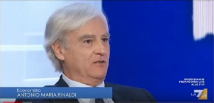 """Rinaldi Vs Monti a La 7: """"Senza di me la Germania non avrebbe concesso il QE"""" """"Draghi lo avrebbe fatto lo stesso, se voleva salvare l'Euro"""""""